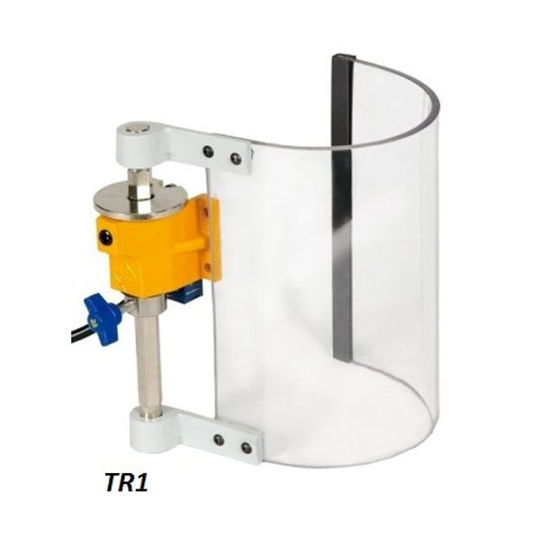 Safety Guard In Polycarbonate For Spindle Of Drilling Machine With Or Without Microswitch Type Tr1